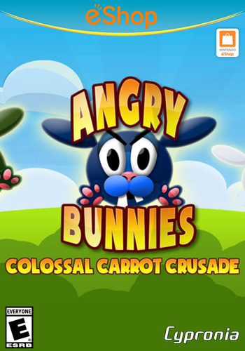 Angry Bunnies: Colossal Carrot Crusade WiiU coverM2 (WBEE)