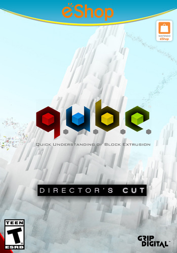 Q.U.B.E: Director's Cut WiiU coverM2 (WDCE)