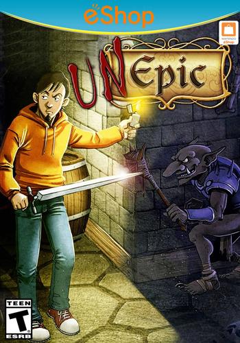 Unepic WiiU coverM2 (WEPE)