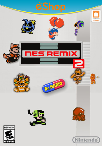 NES Remix 2 Array coverM2 (WF2E)