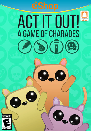 ACT IT OUT! A Game of Charades WiiU coverM2 (WGQE)