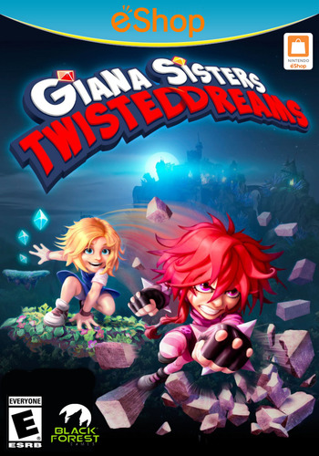 Giana Sisters: Twisted Dreams WiiU coverM2 (WGSE)