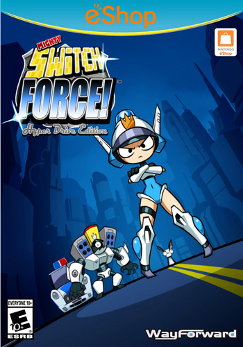 Mighty Switch Force! Hyper Drive Edition WiiU coverM2 (WHYE)