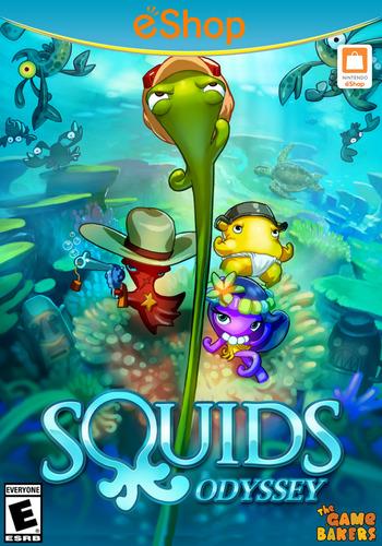 Squids Odyssey WiiU coverM2 (WJCE)