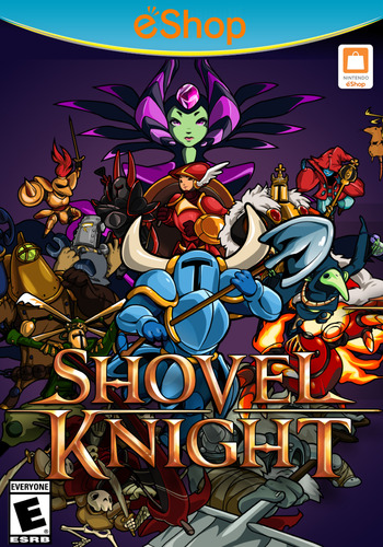 Shovel Knight WiiU coverM2 (WKNE)