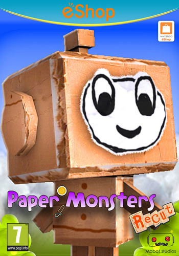 Paper Monsters Recut Array coverM2 (WM3E)