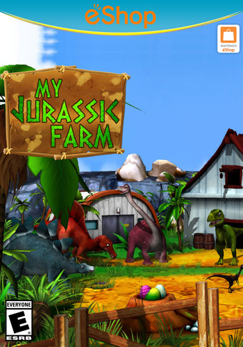 My Jurassic Farm WiiU coverM2 (WMJE)