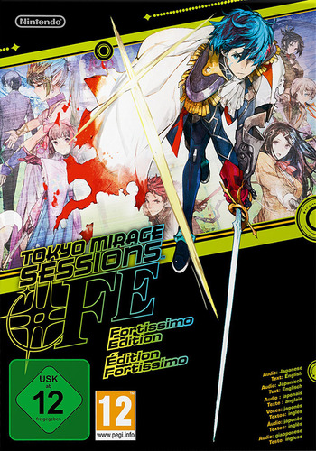 Tokyo Mirage Sessions #FE WiiU coverMB (ASEP01)