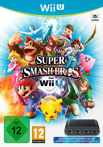 Super Smash Bros. for Wii U Array coverMB (AXFP01)