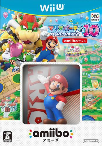 マリオパーティ10 WiiU coverMB (ABAJ01)