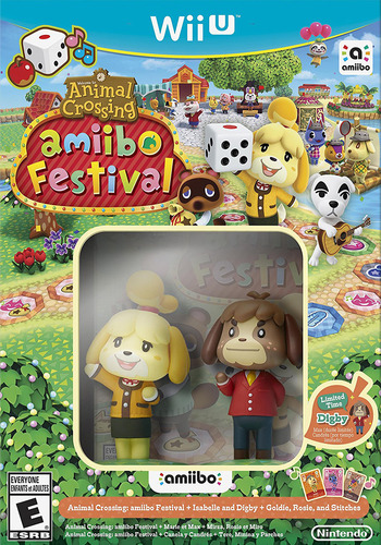Animal Crossing: amiibo Festival WiiU coverMB (AALE01)