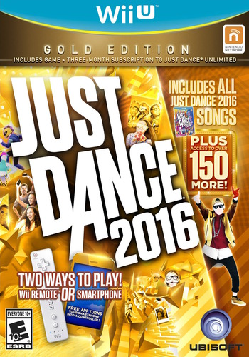 Just Dance 2016 WiiU coverMB (AJ6E41)