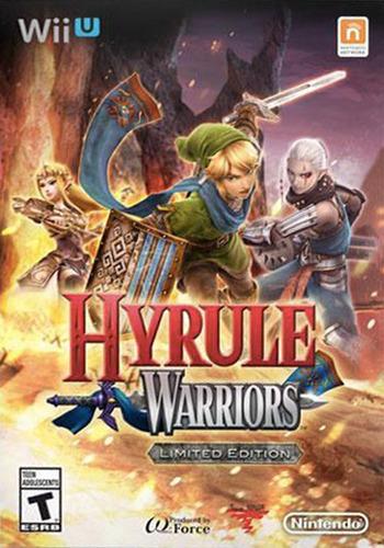 Hyrule Warriors WiiU coverMB (BWPE01)