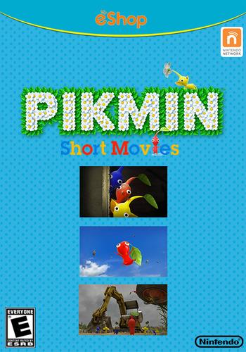 Pikmin Short Movies HD WiiU coverMB (MCVE)