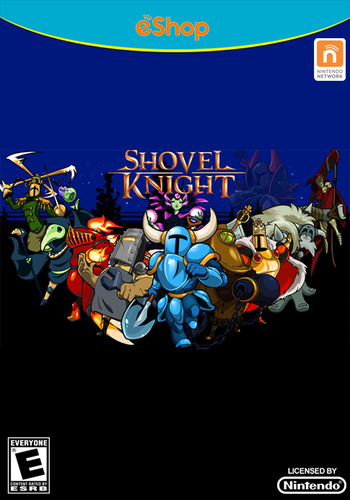 Shovel Knight WiiU coverMB (WKNE)