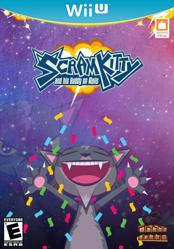 Scram Kitty and his Buddy on Rails WiiU coverMB (WKTE)