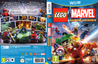 LEGO Marvel Super Heroes WiiU cover (ALMPWR)