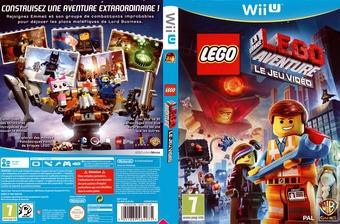 LEGO La Grande Aventure:Le Jeu Video pochette WiiU (ALAPWR)