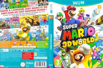 Super Mario 3D World pochette WiiU (ARDP01)