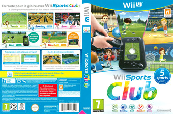 Wii Sports Club pochette WiiU (AWSP01)