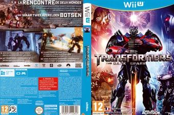 Transformers: The Dark Spark pochette WiiU (AYEP52)