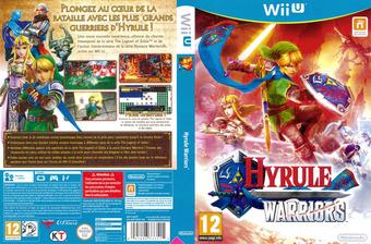 Hyrule Warriors pochette WiiU (BWPP01)