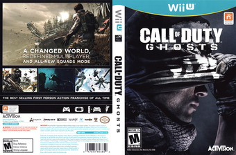 Call of Duty: Ghosts WiiU cover (ACPE52)