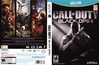 Call of Duty: Black Ops II WiiU cover (AECE52)