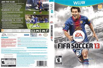 FIFA Soccer 13 WiiU cover (AF3E69)