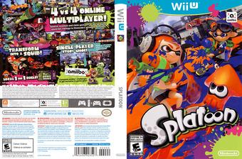 Splatoon WiiU cover (AGME01)