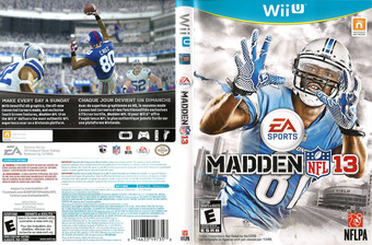 Madden NFL 13 WiiU cover (AMDE69)