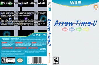 Arrow Time U eShop cover (ARUE)