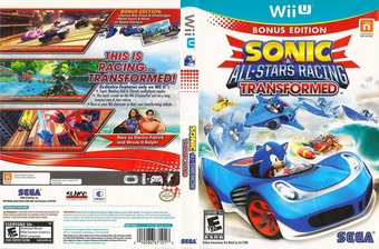 Sonic & All-Stars Racing Transformed WiiU cover (AS2E8P)