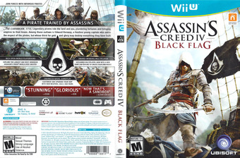 Assassin's Creed IV: Black Flag WiiU cover (ASBE41)