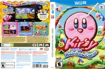 Kirby and the Rainbow Curse WiiU cover (AXYE01)