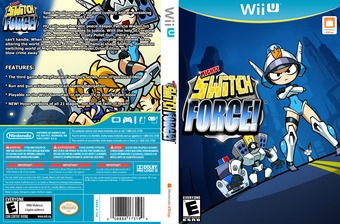 Mighty Switch Force! Hyper Drive Edition eShop cover (WHYE)