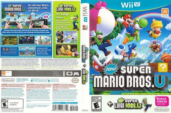 New Super Mario Bros. U + New Super Luigi U WiiU cover (ATWE01)