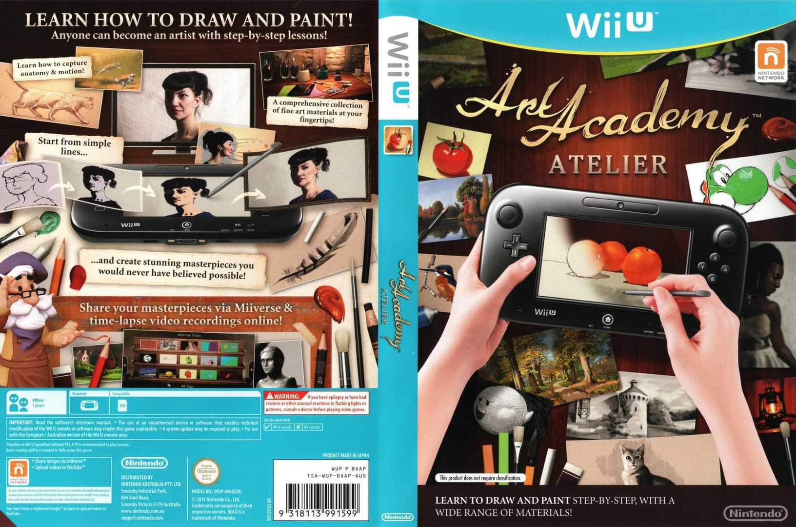 Art Academy: Atelier WiiU coverfullHQ (BXAP01)