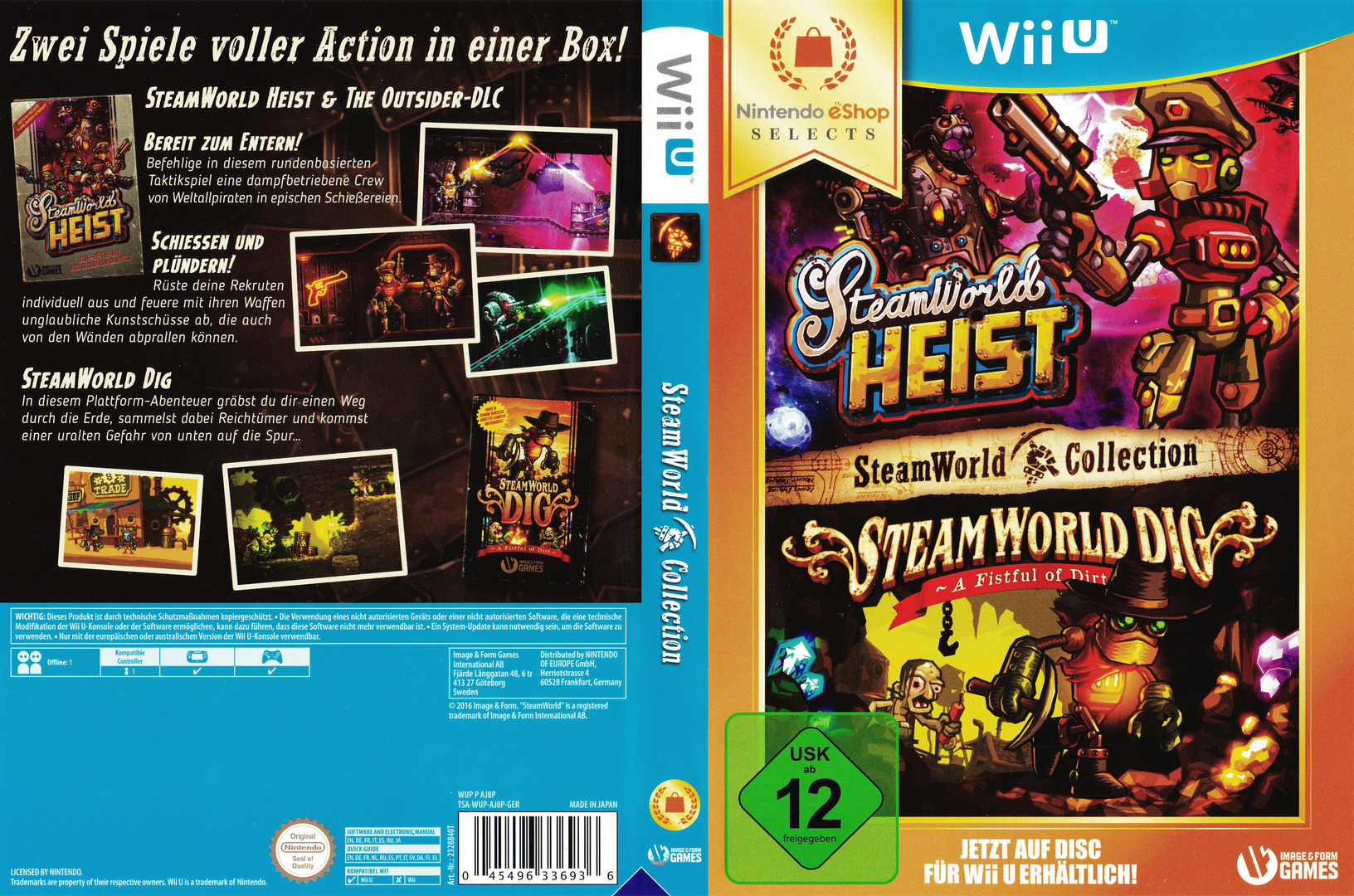 SteamWorld Collection WiiU coverfullHQ (AJ8PVW)