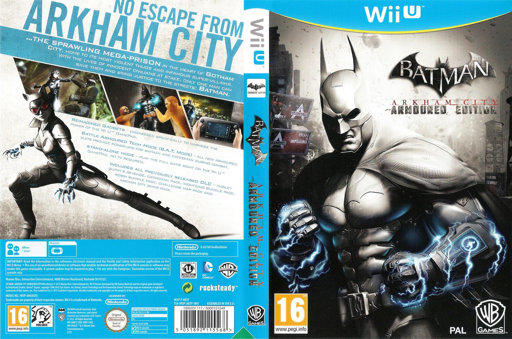 Batman Arkham City: Armoured Edition WiiU coverfullHQ (ABTPWR)