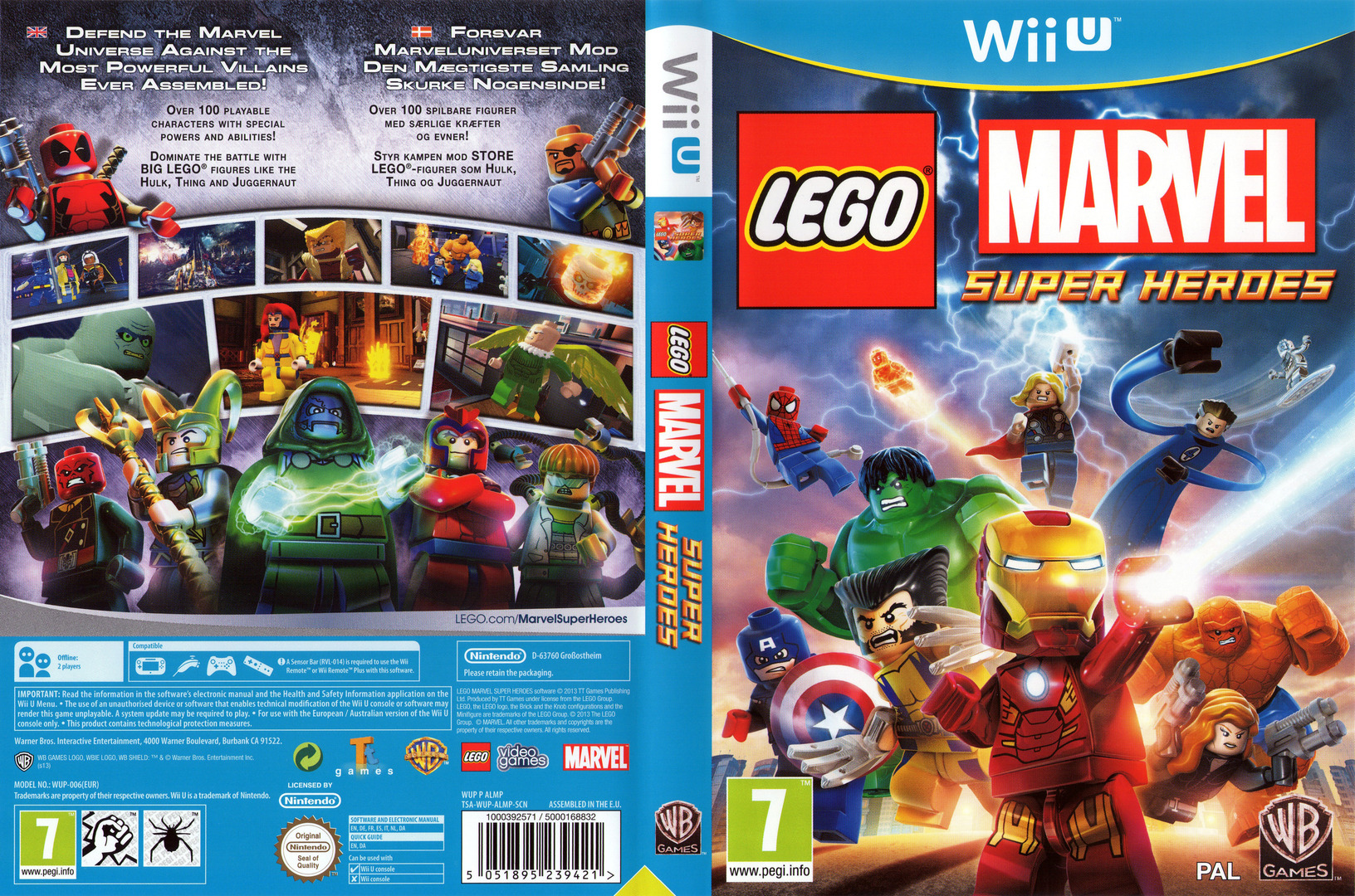 LEGO Marvel Super Heroes Array coverfullHQ (ALMPWR)