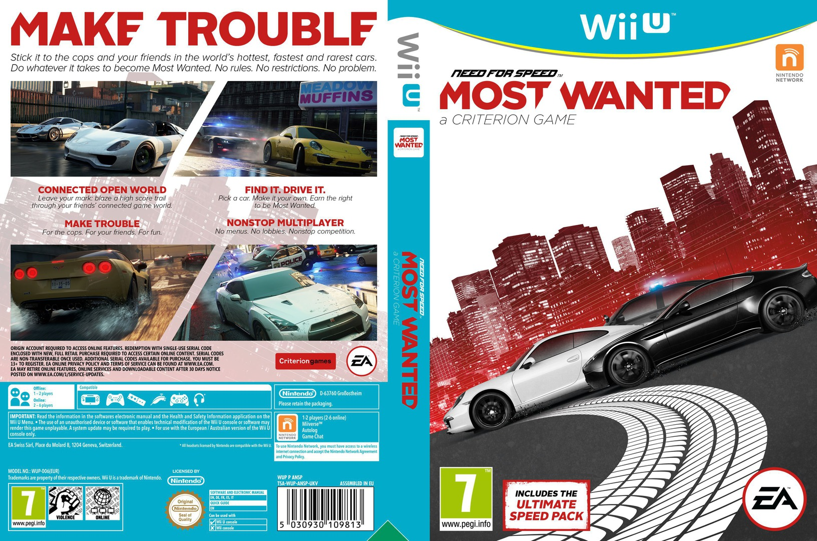 Need for Speed: Most Wanted U WiiU coverfullHQ (ANSP69)