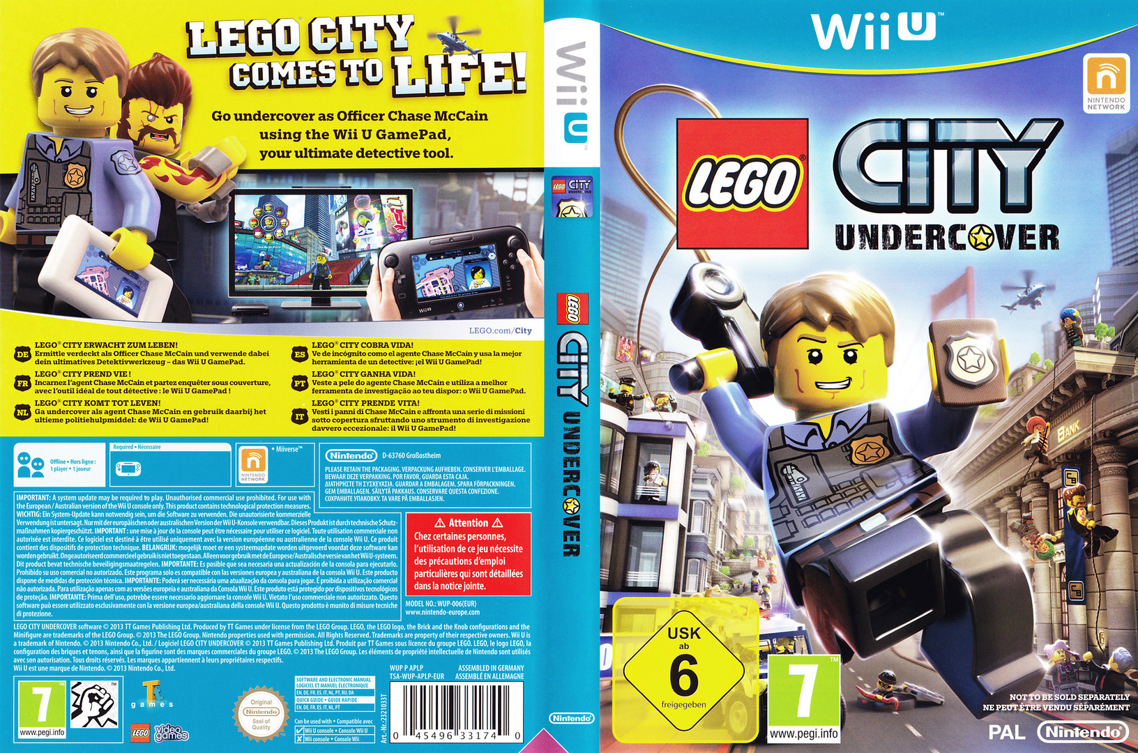 Aplp01 lego city undercover for Case lego city