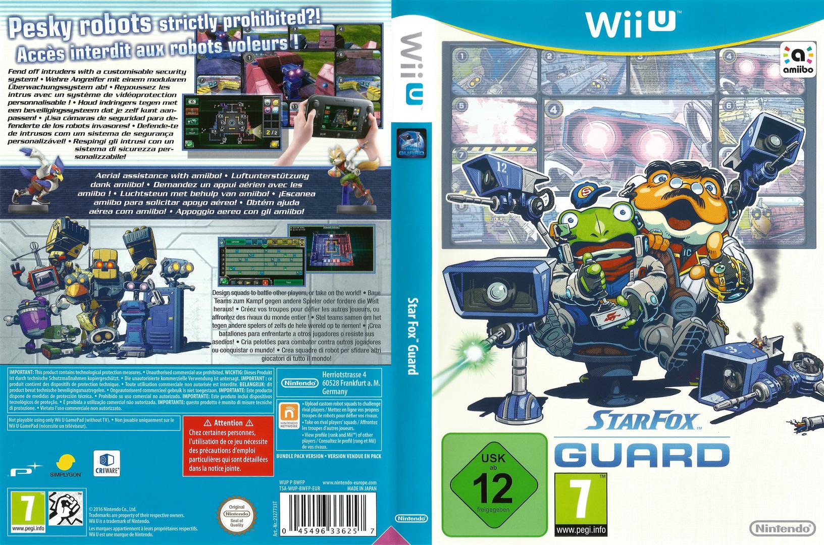 Star Fox Guard WiiU coverfullHQ (BWFP01)