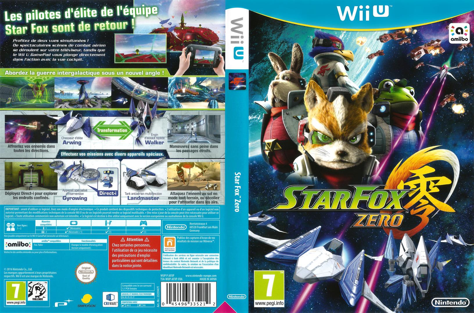 Star Fox Zero WiiU coverfullHQ (AFXP01)