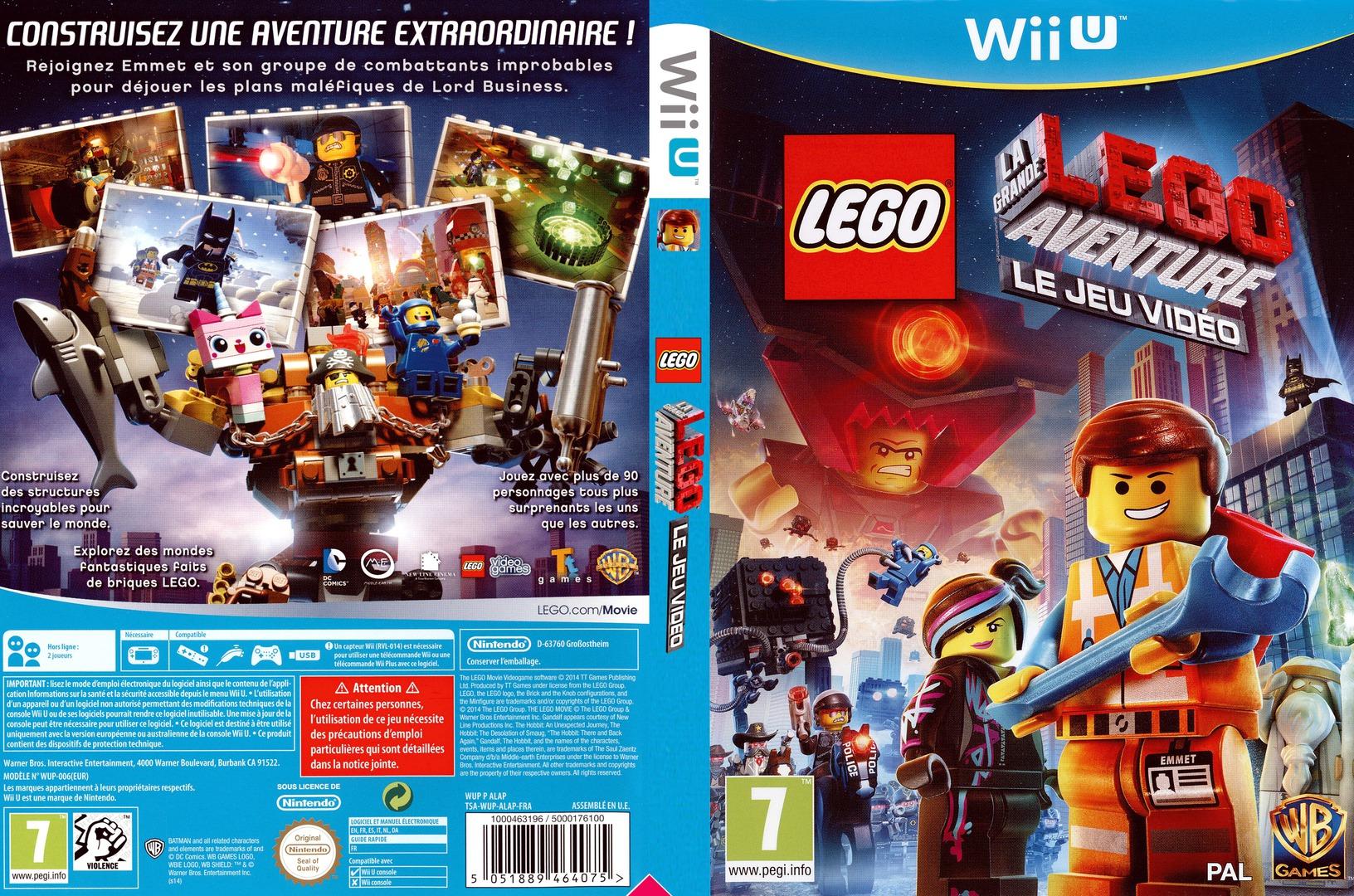 LEGO La Grande Aventure:Le Jeu Video WiiU coverfullHQ (ALAPWR)
