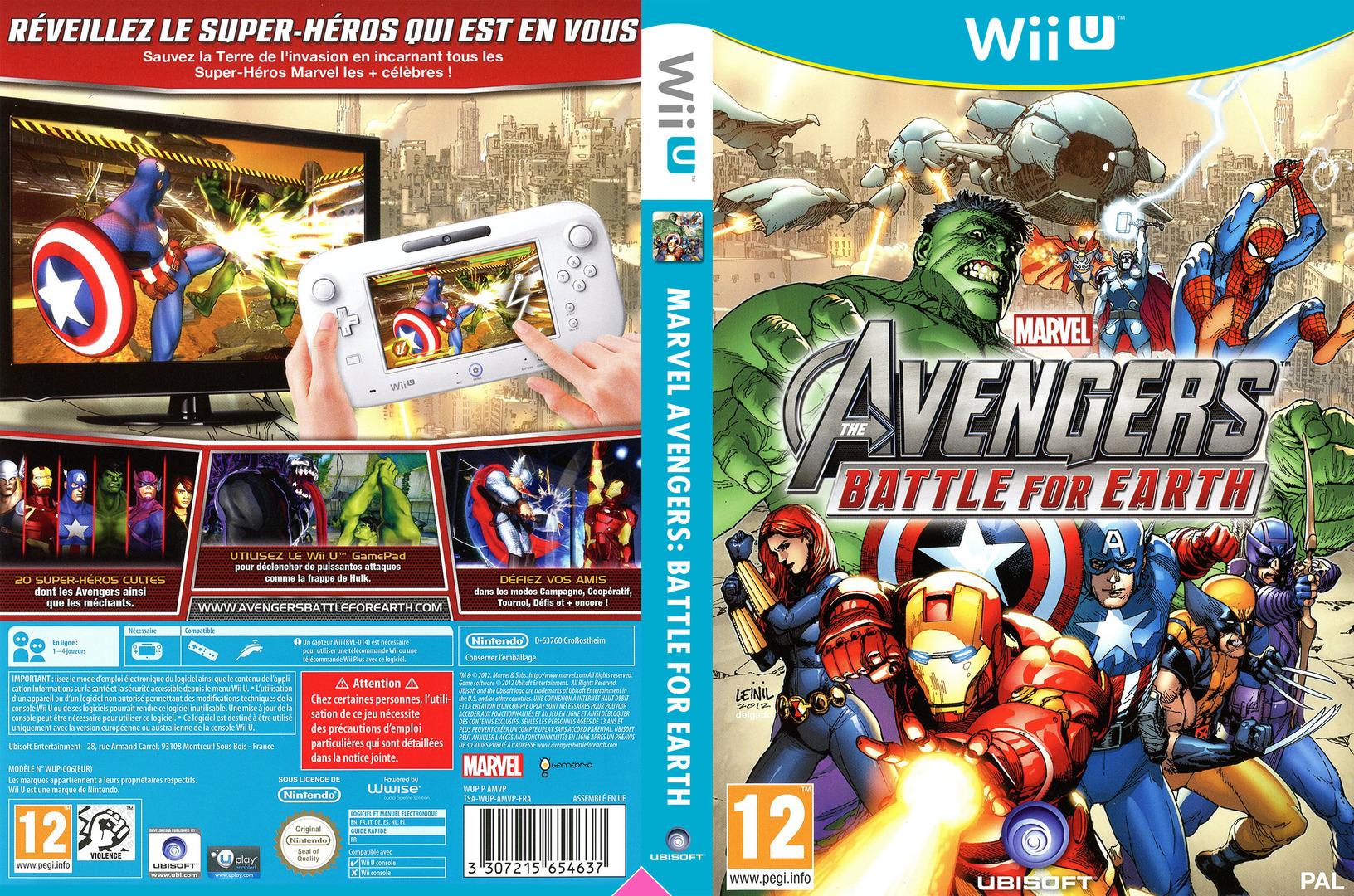 Marvel Avengers: Battle for Earth WiiU coverfullHQ (AMVP41)
