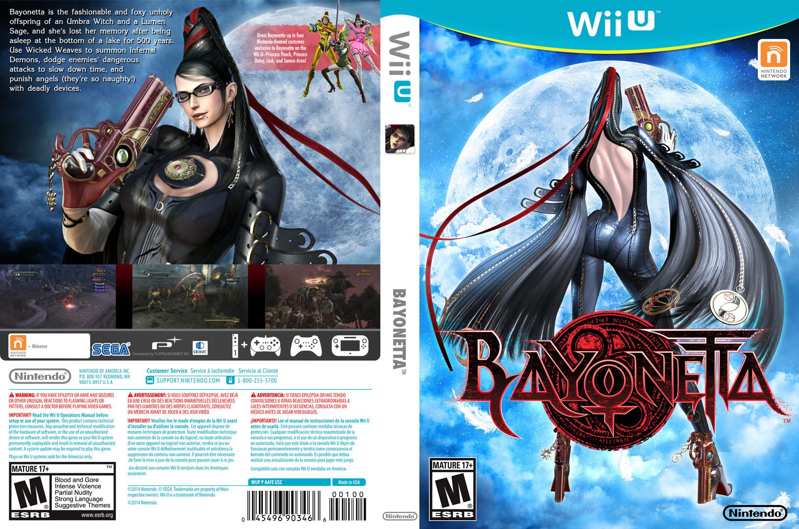 Bayonetta WiiU coverfullHQ (AAFE01)