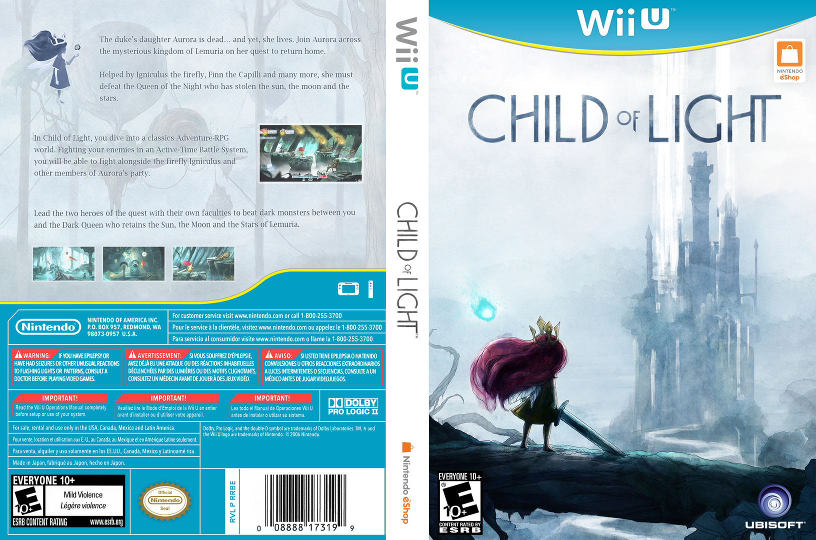 Child of Light WiiU coverfullHQ (ACLE)