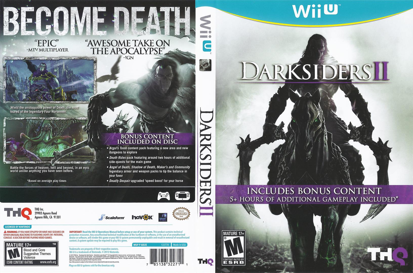 Darksiders II WiiU coverfullHQ (AD2E78)